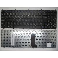 Клавиатура DNS Clevo W650EH W650SH W650SB W650SJ черная без рамки