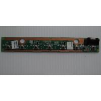 Плата с кнопками управления Toshiba A210-19B с разбора