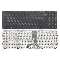 Клавиатура Lenovo 100-15IBD черная с рамкой