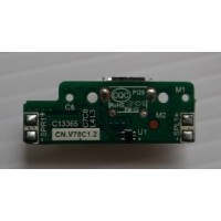 Плата micro usb разъема Prestigio Quantum 7.85 PMP5785C3G с разбора