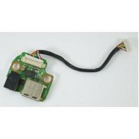 Разъем питания DNS P10QD 0140413 USB с разбора