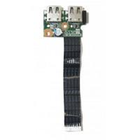 Плата USB HP CQ58-350ER 01016YY00-600-G с разбора