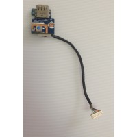Плата USB кнопка включения Samsung R425 с разбора