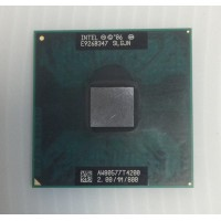 Процессор Socket P (mPGA478) Intel Core 2 Duo T4200 SLGJN 2.00ГГц с разбора