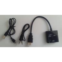 Переходник HDMI - VGA - AUDIO AUX - microUSB - USB