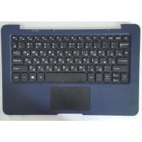 Верхняя часть корпуса с клавиатурой с тачпадом с микрофоном 4GOOD CL100 с разбора