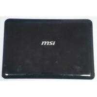 Крышка матрицы MSI U100X с разбора
