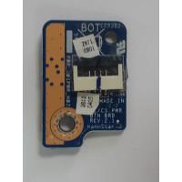 Плата кнопки включения Toshiba L850 с разбора