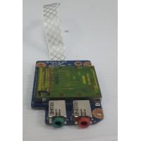 Плата Audio Cardreader Lеnоvо G560 G565 Z560 Z565 с разбора