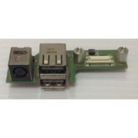 Плата USB разъем питания Dell 1525 с разбора