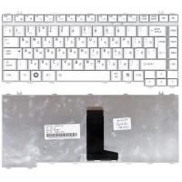Клавиатура Toshiba A200 A300 L450 M300 плоский Enter белая
