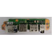 Плата USB Toshiba R850-162 с разбора