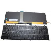 Клавиатура MSI CX61 GE60 GE70 GP60 GP70 черная с подсветкой