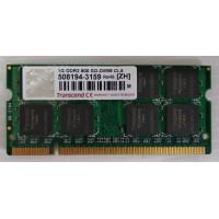 Оперативная память 1GB DDR2 800 SO-DIMM CL5 Transcend с разбора