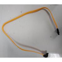 Кабель SATA SATA прямой с двух сторон жёлтый с разбора