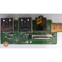 Плата USB Asus K56CB-XO506H с разбора