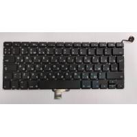 Клавиатура Apple A1278 RU черная большой enter с подсветкой
