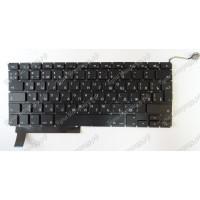 Клавиатура Apple A1286 RU черная большой enter с подсветкой