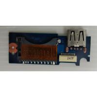 Плата USB Cardreader Samsung NP530U4C-S03RU с разбора