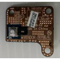 Плата кнопки включения Acer 5942G-434G50MI с разбора