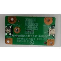 Плата кнопок тачпада Sony PCG-7Q3P с разбора