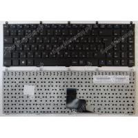 Клавиатура DNS Clevo C4500 C5500 W760C W765S MP-08J46SU-430 черная большой Enter с разбора