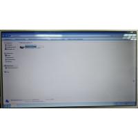 "Матрица для ноутбука 16.0"" 1366x768 40 pin HD LED HSD160PHW1 глянцевая справа внизу с разбора"