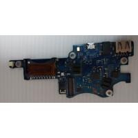 Плата USB Audio CardReader Samsung NP900X3C-A02RU с разбора