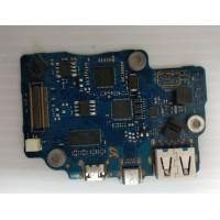 Плата USB Type-C Samsung NP900X3C-A02RU с разбора