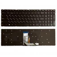 Клавиатура Lenovo 700 700-17ISK черная без рамки с подсветкой