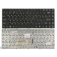 Клавиатура MSI CX480 X350 X360 X370 X420 X460 X460DX черная с рамкой