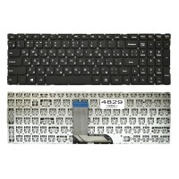 Клавиатура Lenovo 700-15ISK черная без рамки