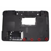 Нижняя часть корпуса Toshiba C650 C650D C655 C655D