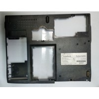 Нижняя часть корпуса RoverBook PARTNER E418L с разбора с дефектом
