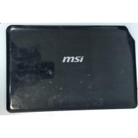 Крышка матрицы MSI MS-1245 с разбора с дефектом