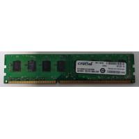 Оперативная память для компьютера DDR3 4GB Crucial PC3-10600