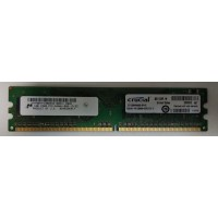 Оперативная память для компьютера DDR2 1GB Crucial PC2-6400U-666-13-ZZ