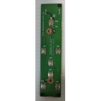 Плата кнопки включения Toshiba A105-S1014 с разбора