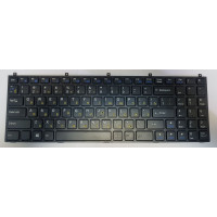 Клавиатура DNS Clevo C4500 W765 MP-08J46SU-430 черная с рамкой плоский Enter