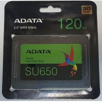 "Жесткий диск SSD A-DATA Ultimate SU650 ASU650SS-120GT-R 120Gb 2.5"" SATA III"